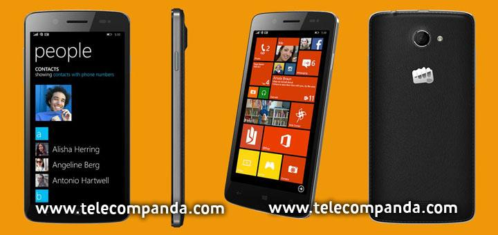 Micromax Canvas Windows Phone