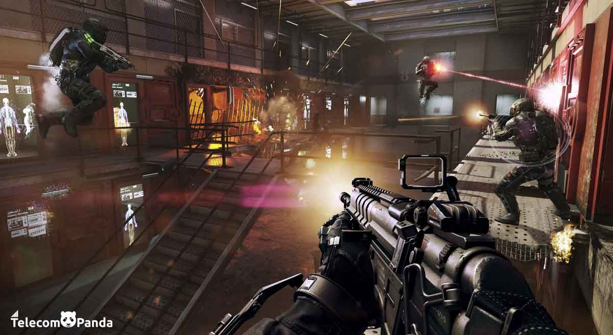 call of duty advanced warfare game play